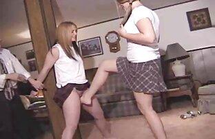 A Natasha e a Dani metem-se com filme de pornô de japonês uma rapariga em acção feminina.